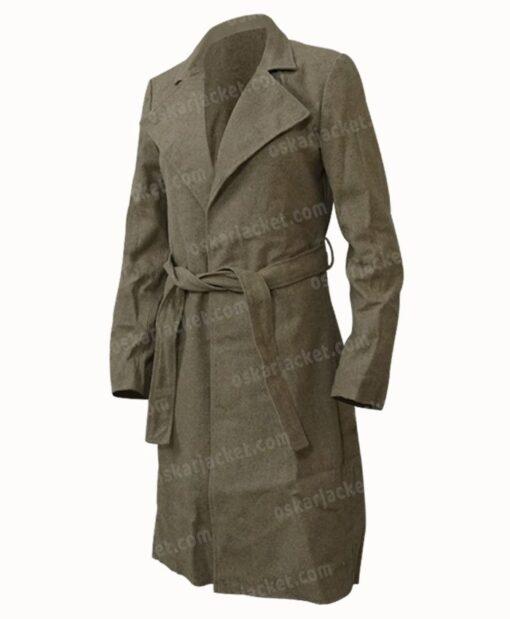 Virgin River Melinda Monroe Wool Coat Left