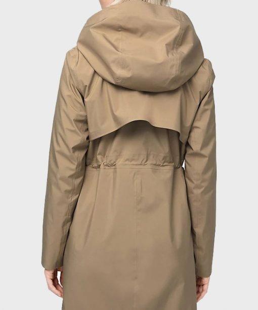 Virgin River S02 Melinda Monroe Beige Cotton Coat Back