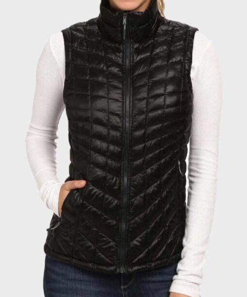 Virgin River S02 Melinda Monroe Black Polyester Vest