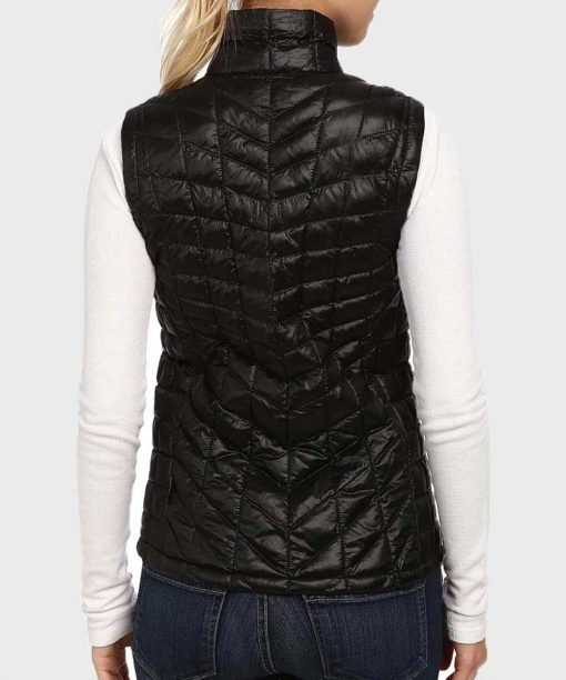 Virgin River S02 Melinda Monroe Black Polyester Vest Back