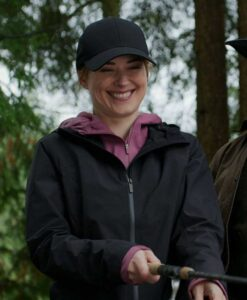 Virgin River S02 Melinda Monroe Hooded Cotton Coat