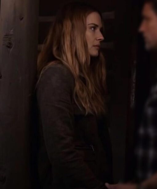 Virgin River S02 Melinda Monroe Suede Leather Jacket