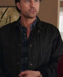 Virgin River Season 02 Jack Sheridan Black Cotton Jacket 2