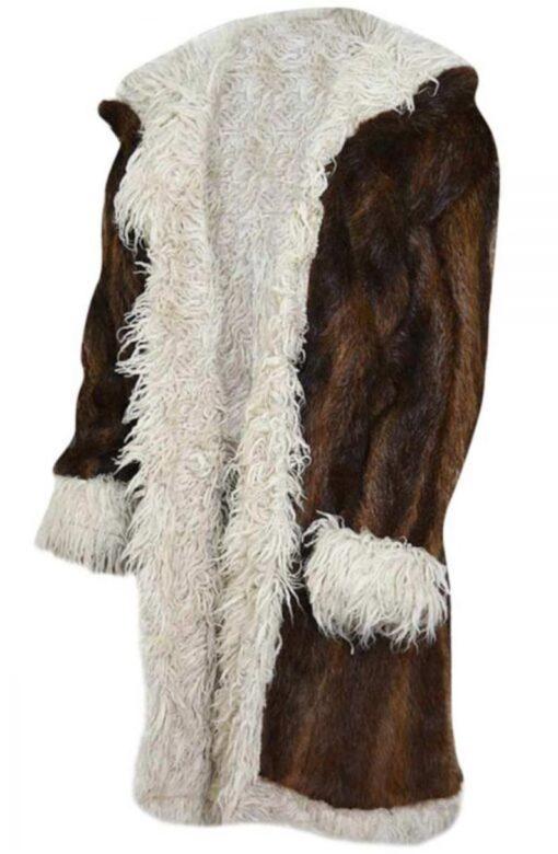 XXX Return Of Xander Cage Nutria Fur Brown & Black Coat Side