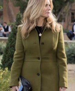 Atypical S04 Jennifer Jason Leigh Wool Blend Coat 2