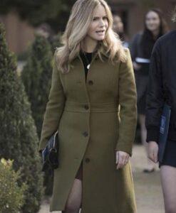 Atypical S04 Jennifer Jason Leigh Wool Blend Coat