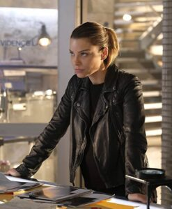 Chloe Decker Lucifer Biker Jacket