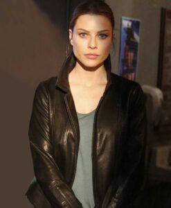 Chloe Decker Lucifer Black Leather Jacket