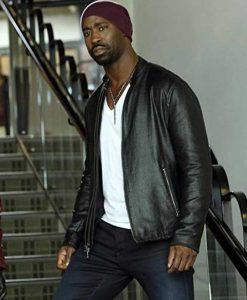 D.B. Woodside Lucifer Amenadiel Leather Jacket