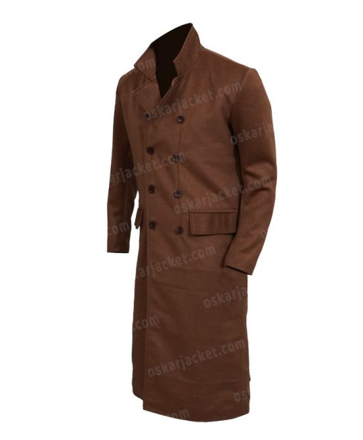 Doctor Who David Tennant The Tenth Doctor Trench Coat LEft