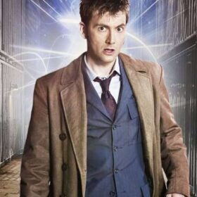 Doctor Who The Tenth Doctor Wool Trench Coat