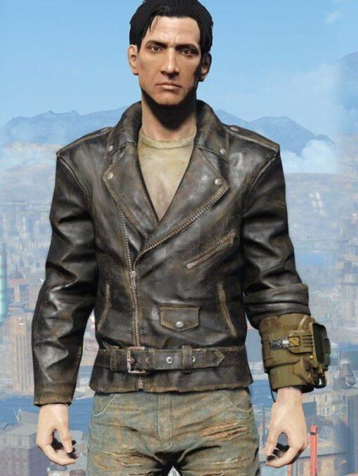 Fallout 4 Atom Cats Biker Jacket