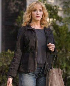 Good Girls Beth Boland Black Cotton Jacket