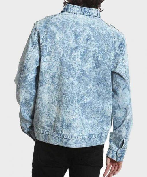 Good Girls Leslie Peterson Blue Denim Jacket Back