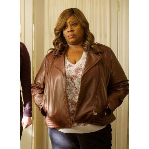 Good Girls Ruby Hill Real Leather Brown Jacket 2