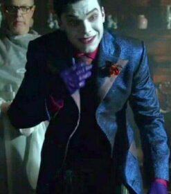 Gotham Season 05 Jeremiah Valeska Blue Tuxedo