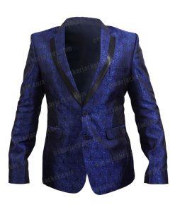 Gotham Season 05 Jeremiah Valeska Blue Tuxedo Front