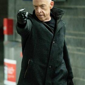 J.K. Simmons Counterpart Black Cotton Jacket