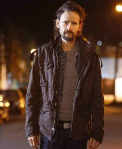 Jeremy Davies Lucifer Black Cotton Jacket