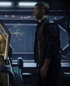 Love Death And Robots Thom Black Leather Moto Vest