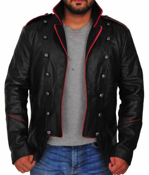 Lucifer Supernatural Vince Black Leather Jacket