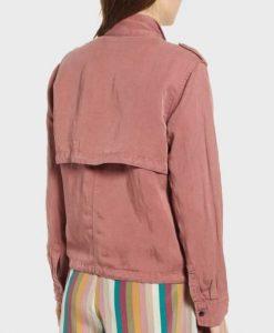 Megan Garner Lucifer Pink Cotton Jacket