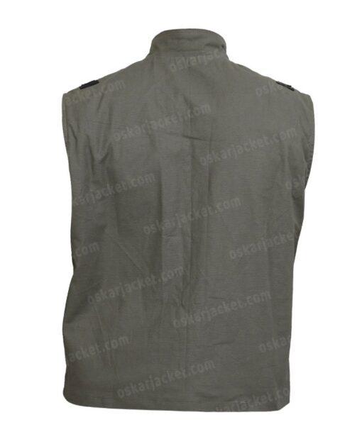 Mortal Kombat 11 Johnny Cage Cotton Green Vest Back