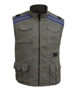 Mortal Kombat 11 Johnny Cage Cotton Green Vest Front