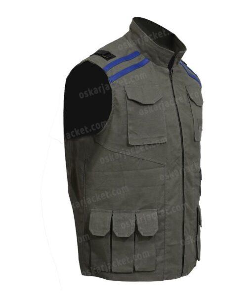 Mortal Kombat 11 Johnny Cage Cotton Green Vest Right