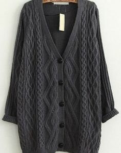 Sex Education S02 Maeve Wiley Grey Woolen Sweater 2