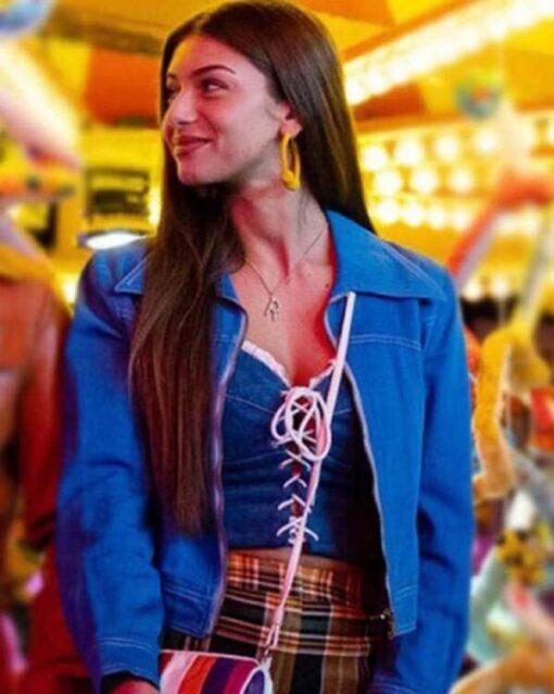Sex Education Season 2 Ruby Blue Cotton Jacket