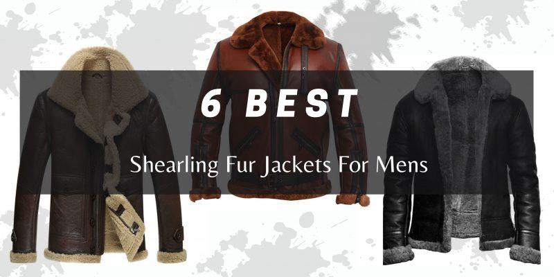 Shearling Fur Jackets For Mens
