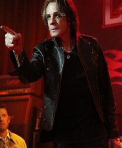 Supernatural Vince Lucifer Black Leather Jacket