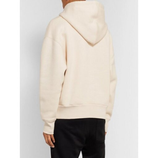 Ted Lasso S01 Keeley Jones White Hoodie WithRed Heart Back
