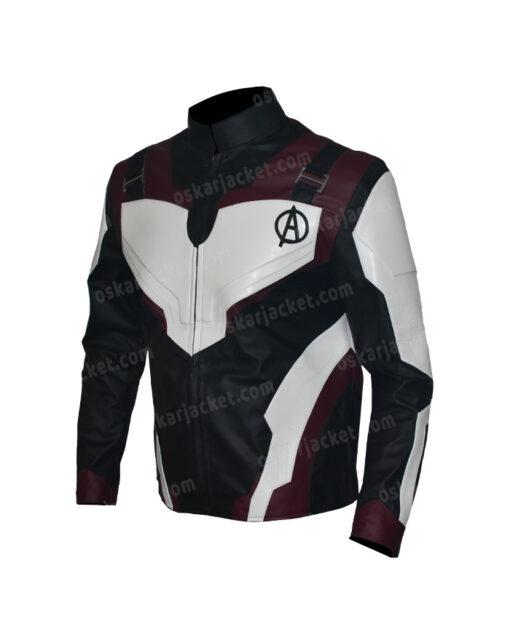 The Avengers Endgame Quantum Realm Suit Leather Jacket Left