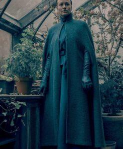 The Handmaids Tale Serena Joy Green Wool Coat