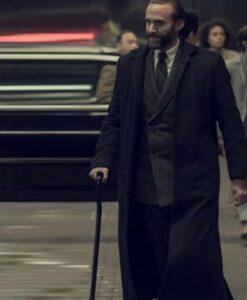 The Handmaids Tale Joseph Fiennes Black Wool Coat