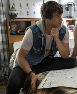 The Map of Tiny Perfect Things Mark Hooded Vest