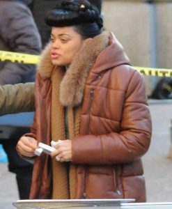 The United States vs. Billie Holiday Brown Coat