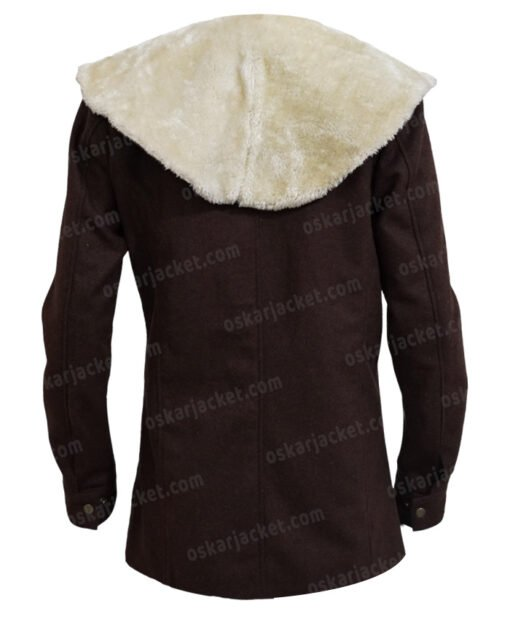 Yellowstone Beth Dutton Brown Coat Back