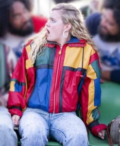Young Rock Lexie Duncan Colorblock Leather Jacket